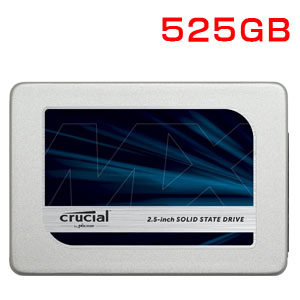 クルーシャル Crucial 525GB MX300 2.5インチ内蔵SSD 3D TLC CT525MX300SSD1