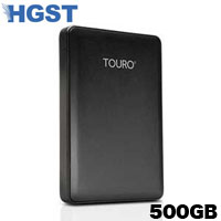 HGST ポータブルHDD500GB 0S03800 Touro Mobile