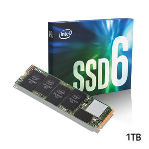 インテル INTEL SSD 1TB M.2 (Type2280) PCI-Express タイプ:3D NAND QLCSSD 660p SSDPEKNW010T8X1