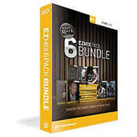 Toontrack Music EZ MIX 6PACK BUNDLE