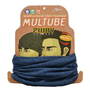 山城 Juque MTJ-002 MULTUBE 2WAY KNITCAP BL F MTJ002BL