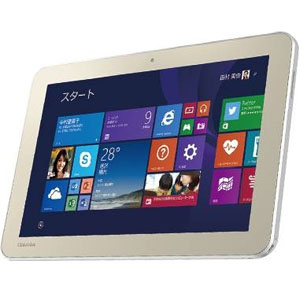 Windowsタブレット 10.1インチ dynabook Tab S80/N PS80NSYK2P7AD41