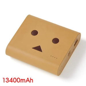チーロ cheero cheero Power Plus DANBOARD version 13400mAh Light Brown CHE-097-BR