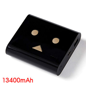 チーロ cheero cheero Power Plus DANBOARD version 13400mAh Piano Black CHE-097-BK