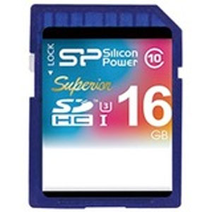 シリコンパワー(silicon power) 【SDHC 16GB】SP016GBSDHCU3V10 Superior Pro【Class10】【UHS-1】