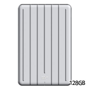 シリコンパワー silicon power Portable SSD Bolt B75 外付けSSD 128GB SP128GBPSDB75SCS