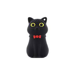 Bone Collection(ボーンコレクション) おもしろUSB DR15041-16BK BLACK CAT 16GB