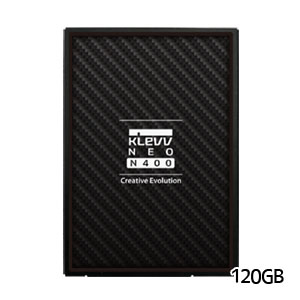KLEVV SSD 120GB K120GSSDS3-N40【NEO N400 シリーズ】 2.5インチ  SATA Revision 3.2 (SATA 6Gb/s)