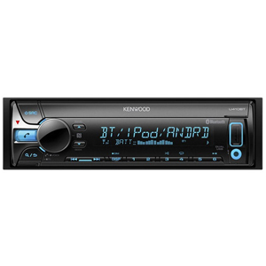 ケンウッド(KENWOOD) CD/USB/iPod/Bluetoothレシーバー MP3/WMA/AAC/WAV/FLAC対応 U410BT