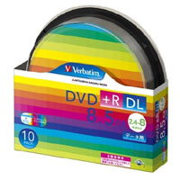 三菱 Verbatim DTR85HP10SV1 DVD+R DL 8.5GB 8倍速10枚